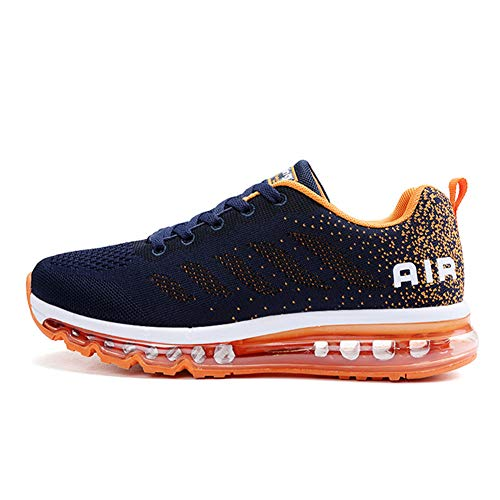 TORISKY Womens Mens Walking Casual Shoes Air Cushion Running Jogging Gym Sports Sneakers(833-OBL45)