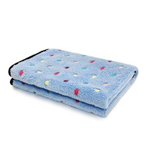 PAWZ Road Pet Dog Blanket Fleece Fabric Soft and Cute 4 Colors 4 Sizes 10