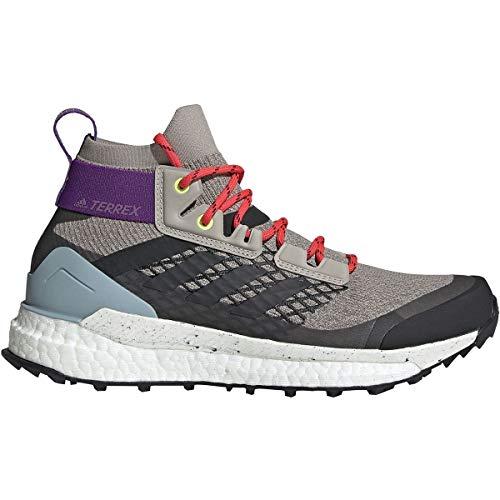 adidas outdoor Terrex Free Hiker Boot - Women's Light Brown/Simple Brown/Ash Grey, 7.0