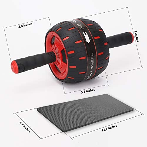 BLD Ab Roller, Core Fitness Resistance Equipment Wheel, Home Gym Exercise Machine 7