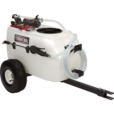 Ironton Tow-Behind Broadcast and Spot Sprayer - 13 Gallon, 1 GPM, 12 Volt DC