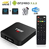 Linkplus T95 S1 Android 7.1 TV Box, Amlogic S905W Quad Core 2GB RAM/16GB ROM WiFi 2.4GHz Ethernet HDMI 4K Full HD Media Player with USB