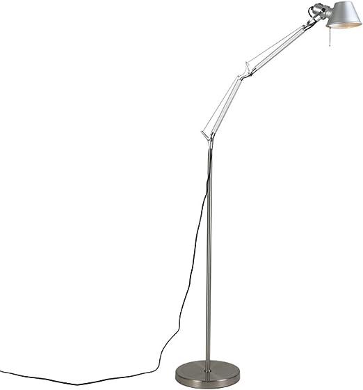 Amazon Com Floor Lamps Indoor Lighting Standing Light Modern Long Arm Folding Floor Lamp Reading Led Floor Lamp Study Desk Lamp Floor Lamps Size S Home Kitchen