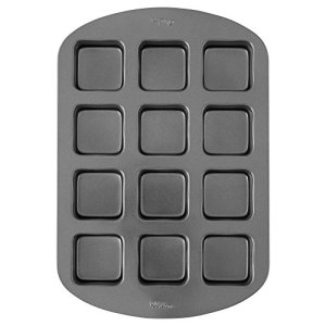 Wilton Brownie Bar Baking Tin, Perfect Results, Premium Non Stick Bakeware, 12 Hole 41BNfAovJDL
