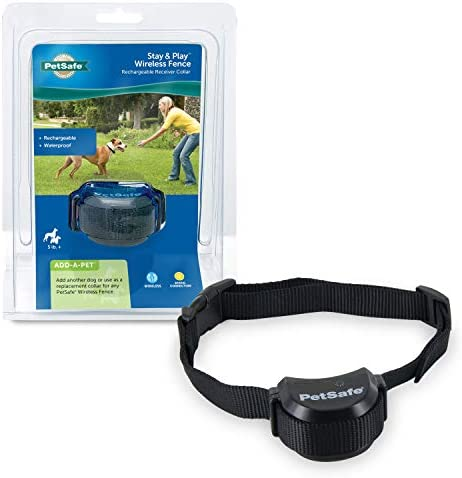 PetSafe Stay & Play Compact Wireless Fence for Dogs & Cats, Waterproof & Rechargeable, Above Ground Electric Fence Covers Up to 3/4 Acre for Pets 5 lb+ from the Parent Company of Invisible Fence Brand