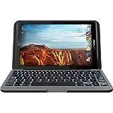 ZAGG EL8ZKF-BB0 Folio Case with Backlit Keyboard for 2016 Verizon Ellipsis 8 Tablet, Black