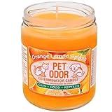 Pet Odor Exterminator Candle Orange Lemon Splash Jar (13 oz)