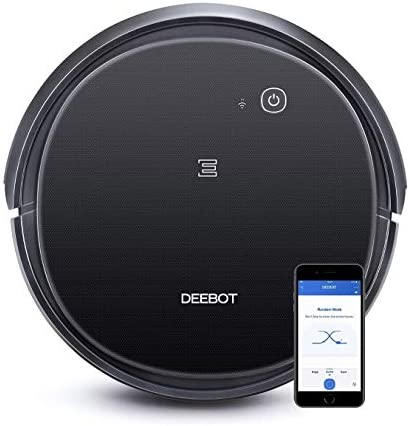 Ecovacs DEEBOT 500 Robot Vacuum Cleaner with Max Power Suction, Up to 110 min Runtime, Hard Floors and Carpets, Pet Hair, App Controls, Self-Charging, Quiet, Large