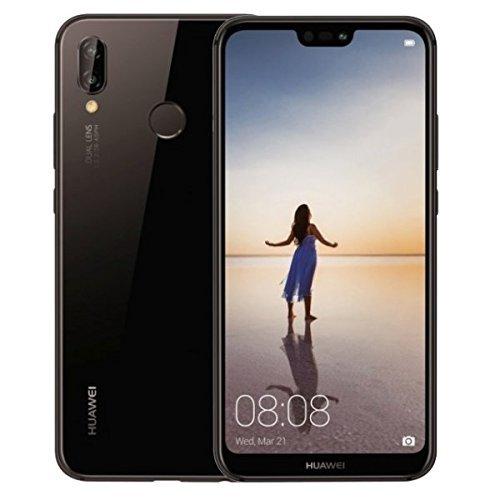 HUAWEI P20 Lite (32GB + 4GB RAM) 5.84' FHD+ Display, 4G LTE Dual SIM GSM Factory Unlocked Smartphone ANE-LX3 - International Model - No Warranty (Midnight Black)