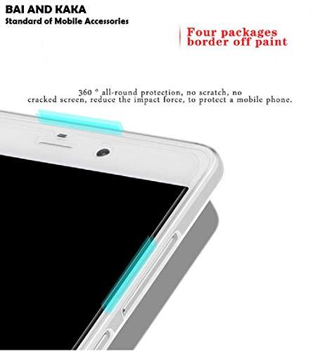 Bai and kaka Transparent TPU Soft Slim Shockproof Back Cover for Nokia 8.1 4