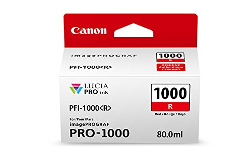 CanonInk-Lucia-PRO-PFI-1000-Red-Individual-Ink-Tank