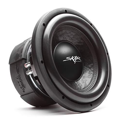 Skar Audio DDX-10 D2 10' 1500 Watt Max Power Dual 2 Ohm Car Subwoofer
