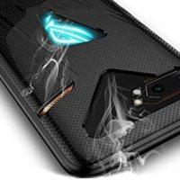 Microcase Asus ROG Phone 2 Gamepad Silikon Kılıf - Siyah 14