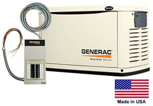 Standby Generator – Residential – 16 kW – Ng & Lp – Incl 16 Cir Transfer Switch