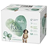 Diapers Size 5, 66 Count - Pampers Pure Disposable Baby Diapers, Hypoallergenic and Fragrance Free Protection, Giant