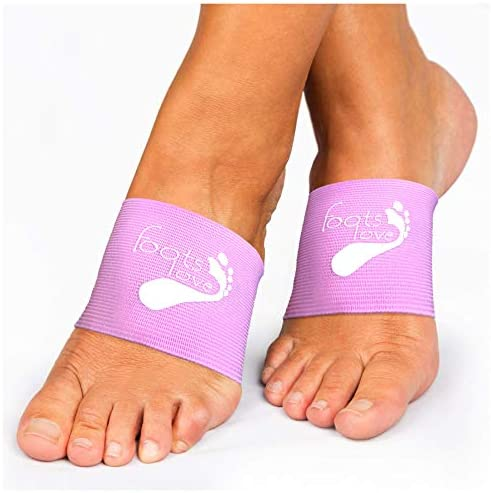 Foots Love Plantar Fasciitis Arch Support Braces-Sleeve Inserts. Compression Lifts & Highest Copper Content Relaxes Nerves. Arch and Heel Foot Care Fast Pain Relief 3