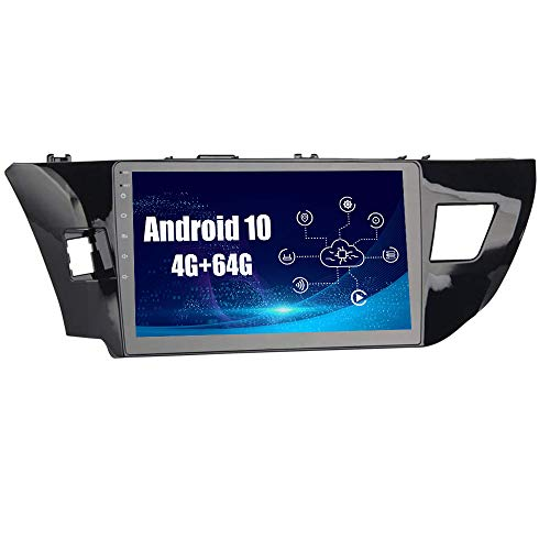 SYGAV-Android-10-Car-Radio-Stereo-for-Toyota-Corolla-Built-in-Carplay-Android-Auto-102-Inch-HD-1280x720-Touch-Screen-in-Dash-GPS-Navigation-Head-Unit