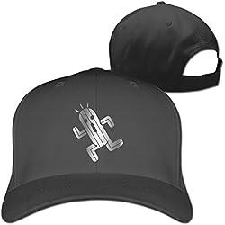 GJNSK Final Fantasy Cactuar Platinum Style Baseball Snapback Cap Black