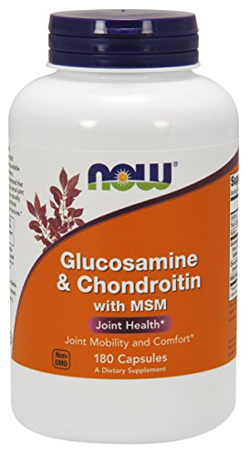 NOW Supplements, Glucosamine & Chondroitin with MSM, 180 Capsules