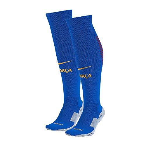 Nike Barcelona Home Stadium Soccer Sock (Blue) Medium