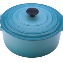 Le Creuset Enameled Cast Iron Dutch Oven, 4.5 qt., Caribbean