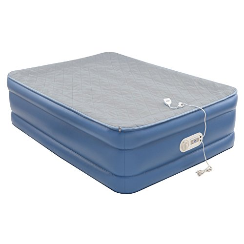 AeroBed Quilted Foam Topper Air Mattress – Full | Camping ...