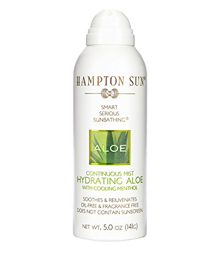 41CCro3ogNL Deeply hydrates and soothes while natural aloe calms and heals sunburned skin Extremely light, cooling and refreshing and can be used during sun exposure to replenish lost moisture Oil freeformula wont leave a film on the skin