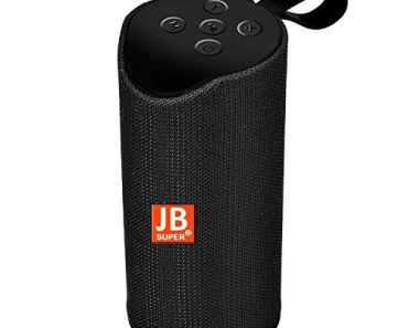 JB Super Bass Portable Wireless Bluetooth Speaker 10W with Built-in mic, TF Card Slot, USB Port – Multi Color