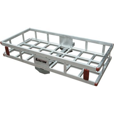 500 Lb Hitch Mount Hual Aluminum Cargo Carrier Basket (ALUMCARGOCARRIER#92655)