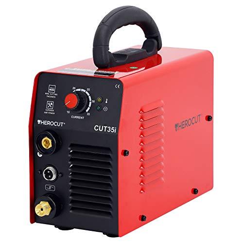 Plasma-Cutter-HeroCut-35i-Single-Phase-110V-30A-Inverter-Air-Plasma-Cutting-Machine-IGBT-4mm-Clean-Cut-8mm-Max-Cut-Easy-Cut-Car-Frame-Carbon-Steel-Stainless-Steel-Thin-Copper-Aluminum