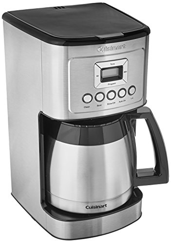 Cuisinart DCC-3400 Stainless Steel Thermal Coffeemaker 12 Cup Carafe