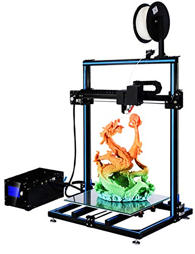 ADIMLab Gantry 3D Printer 90% Assembled 310X310X410 3D Printing Size with 24V15A Power Heat Bed Glass Control Box Filament Detector, Nozzle Light, Modifiable to Upgrade to Auto Leveling