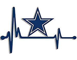 Download Amazon.com: MAGNET 4x6.5 inch Heartbeat Lifeline Dallas ...