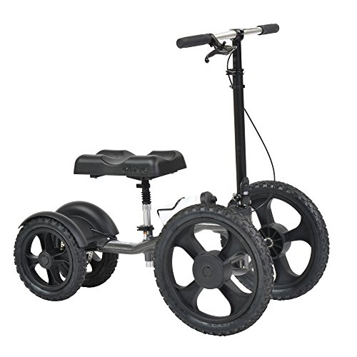 Drive Medical All Terrain Knee Walker and Knee Scooter, Crutch Alternative