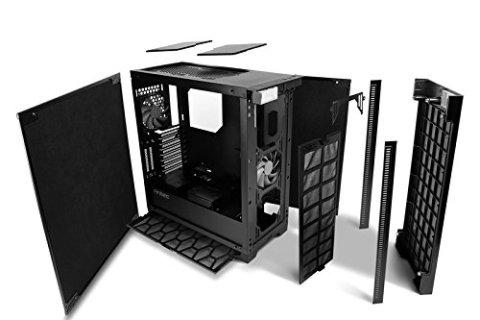 ANTEC P110 silent ケース内部 パネルを外したところ