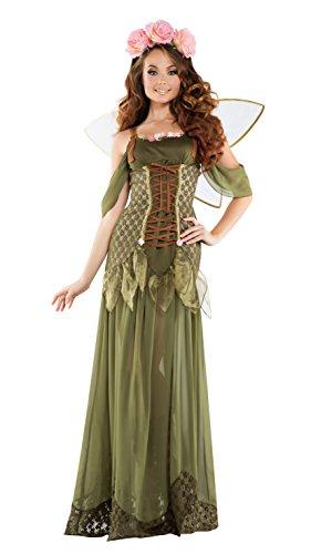 Starline Halloween Celebration Rose Fairy Princess Costume - Large