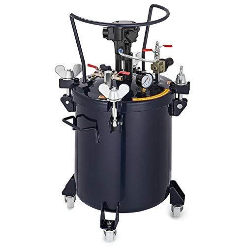 VEVOR-Pressure-Pot-5Gal-Pressure-Pot-Paint-Sprayer-20L-Pressure-Feed-Paint-Pot-Tank-Mixer-Sprayer-Regulator-Automatic-Air-Agitator-Stirrer