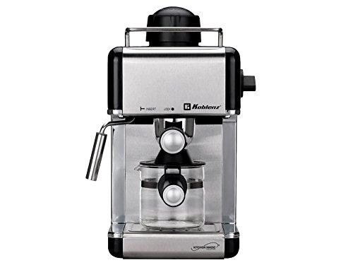 KOBLENZ CKM-650 EIN Cafetera expreso/cappuccino Negro y acero