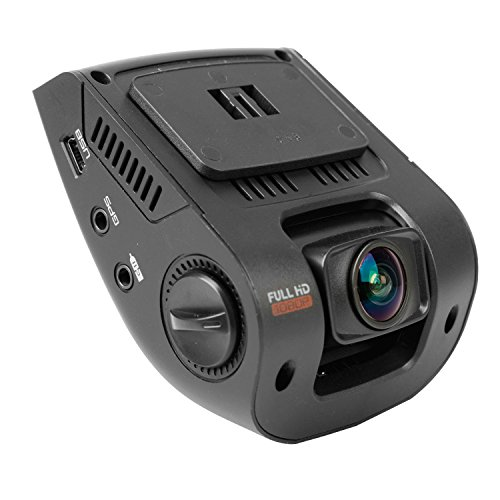 Rexing V1 Car Dash Cam 2.4' LCD FHD 1080p 170 Degree Wide Angle Dashboard Camera Recorder with Sony Exmor Video Sensor, G-Sensor, WDR, Loop Recording