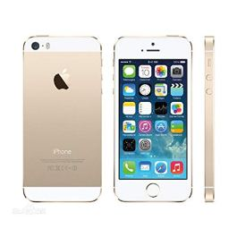Original AppleiPhone Compatible Apple iPhone 5S – 16GB – iOS Gold (Unlocked) GPS WiFi 8MP 1080P Smartphone – Hermetic