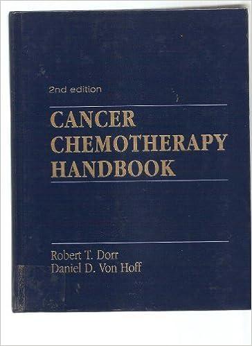 Cancer Chemotherapy Handbook