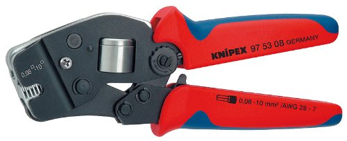 KNIPEX 97 53 08 Self-Adjusting Crimping Pliers