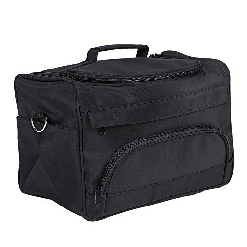 Anself Salon Barber Tool Bag Portable Travel MUA Case for Hair Styling