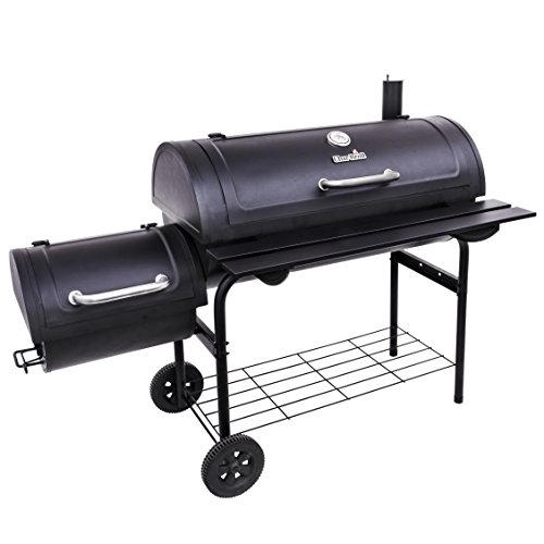 Char-Broil Deluxe Offset Smoker, 40'