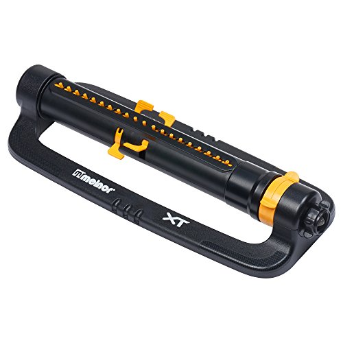 Melnor XT Oscillating Lawn Sprinkler with Width & Range Control, Waters up to 4,200 sq.ft.