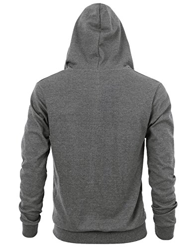 """""""DELIGHT"""" Men's Fashion Fit Full-zip HOODIE with Inner Cell Phone Pocket 17 Fashion Online Shop gifts for her gifts for him womens full figure"""