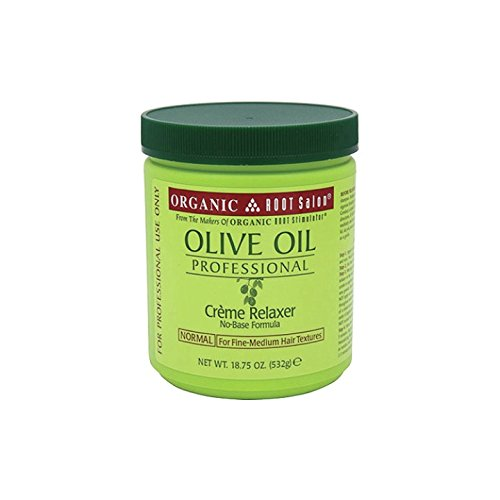 Organic Root Stimulator Olive Oil Professional Creme Relaxer, Extra Strength, 531 grams