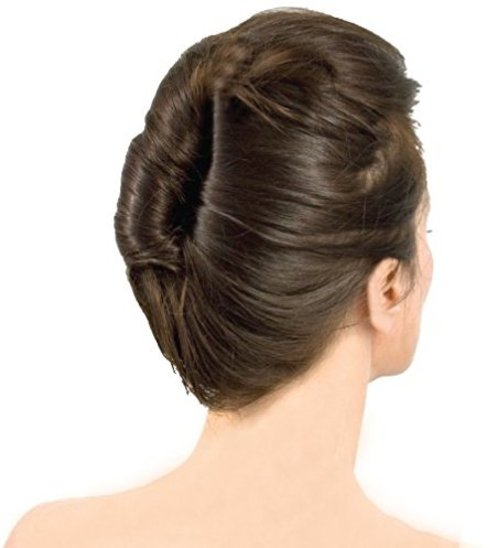 Amazon.com : Mia French Twister Updo Styling Tool French Twist Bun Maker | Large Size For Long and/or Thick Hair | Clear Color | for Women, Brides, Dress Up : French Twist