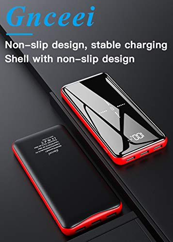Wireless-Portable-Charger-Power-Bank-25000mAh-High-Capacity-with-LCD-Digital-Display3-USB-Output-Dual-Input-External-Battery-Pack-Compatible-Smart-PhonesAndroid-PhonesTablet-and-Other-Devices