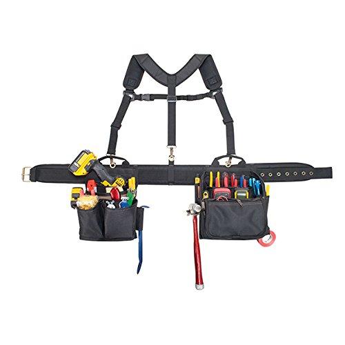 CLC Custom Leathercraft 1608 Electrician's Comfort Lift Combo Tool Belt, 28...